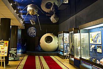 Один из залов музея Центра подготовки космонавтов им. Ю.А. Гагарина в Звездном городке