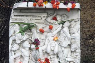 Камень памяти жертвам армянских погромов в Сумгаите
