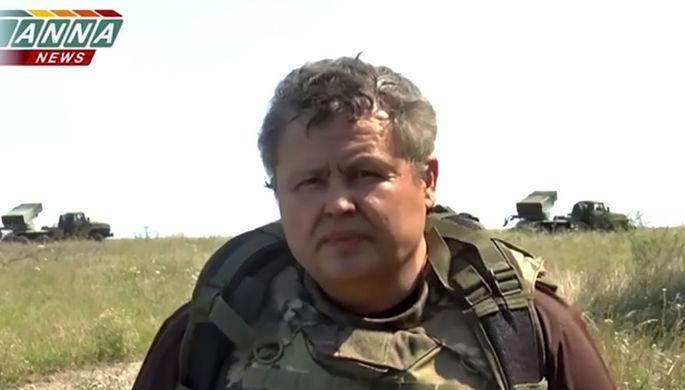 Руководитель новостного проекта Новороссии Anna News Марат Мусин