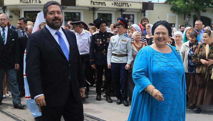 Великая княгиня Мария Владимировна и великий князь Георгий Михайлович, 2016 год