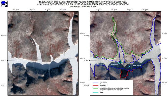 В Хабаровском крае ввели режим ЧС из-за обрушения сопки в реку
