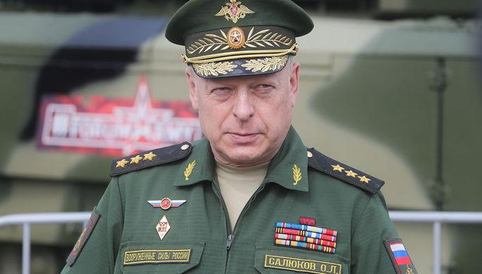 Путин присвоил звание генерала армии главкому Сухопутных войск