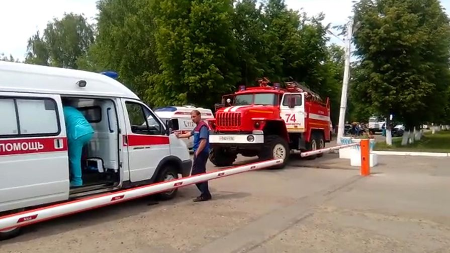 Пассажирский автобус загорелся в Калмыкии