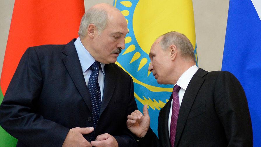 Лукашенко обсудил с Путиным ситуацию в Белоруссии