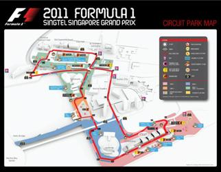 Трасса Гран-при Сингапура
