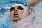 Анастасия Зуева заняла четвертое место на 100-метровке на спине