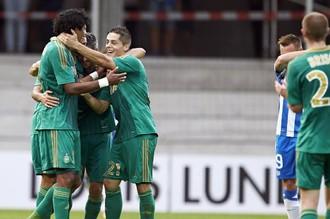 Радость игроков «Сент-Этьенна»