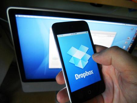 ������ ������� � ����� 7 ��� ��������� Dropbox