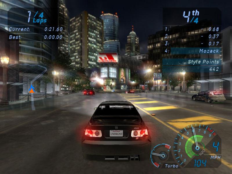 скачать игру бесплатно на компьютер гонки need for speed underground 3