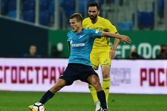 «Ростов» отобрал очки у «Зенита» на его поле