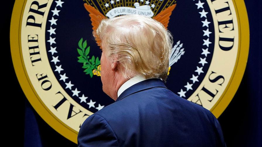Президент США Дональд Трамп в Белом доме, 19 декабря 2019 года