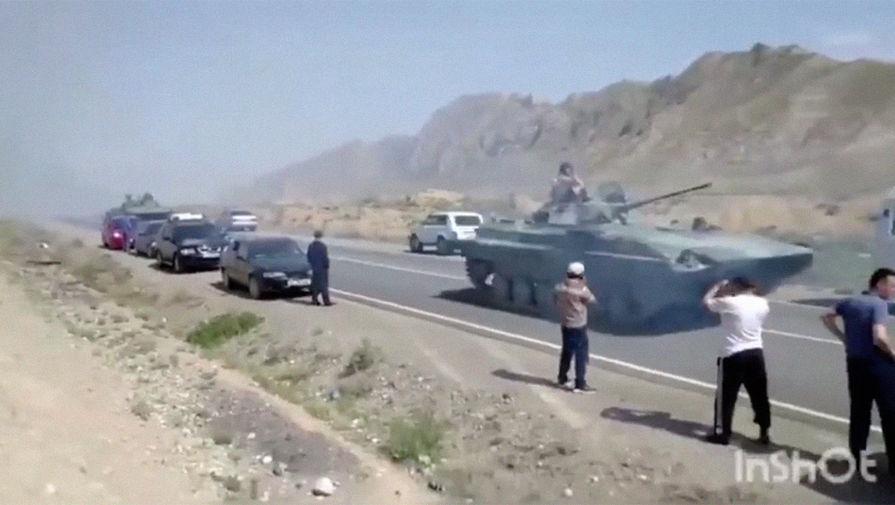 Киргизия и Таджикистан договорились о полном прекращении огня на границе
