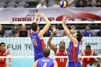 Российские волейболисты обыграли кубинцев на Кубке мира