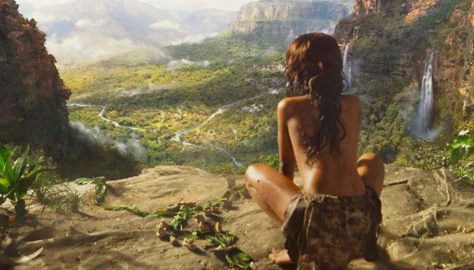 Кадр из фильма «Маугли» (2018)