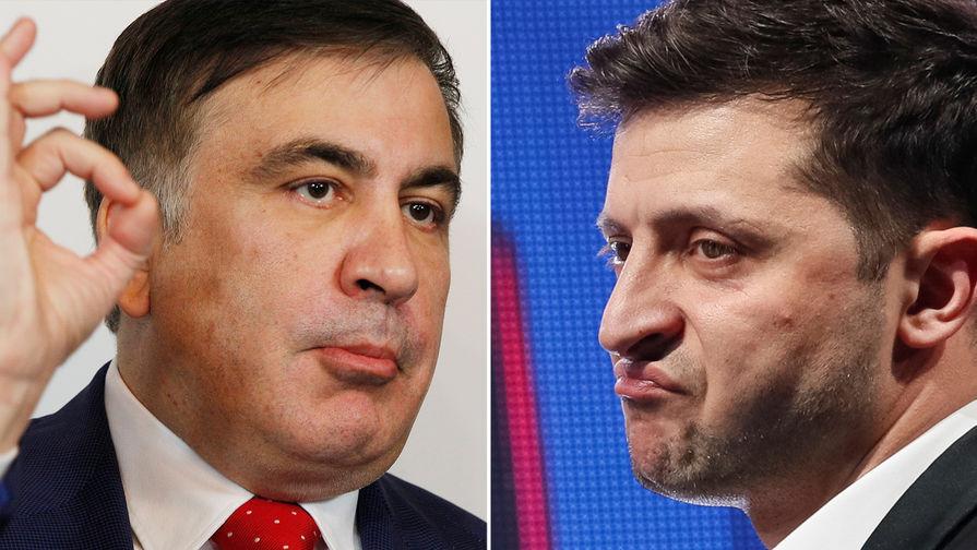 «Россия — в большом долгу»: Саакашвили готовит Зеленского к Путину