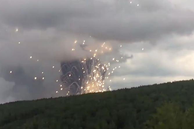 Взрыв на территории воинской части, расположенной в Ачинском районе, 5 августа 2019 года