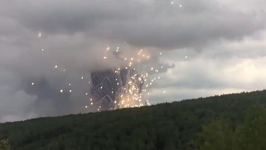 Число пострадавших от взрывов под Ачинском достигло 33