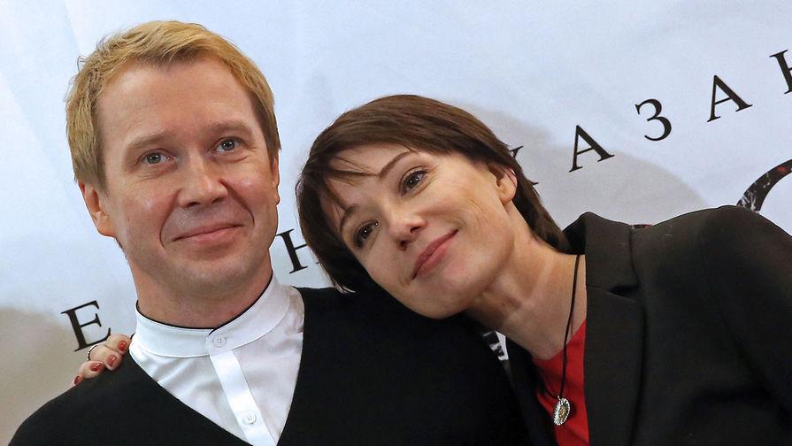 Актеры Евгений Миронов и Чулпан Хаматова