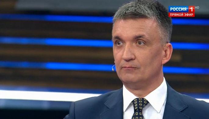 Бывший депутат Верховной рады Украины Александр Ковтуненко в эфире программы «60 минут»