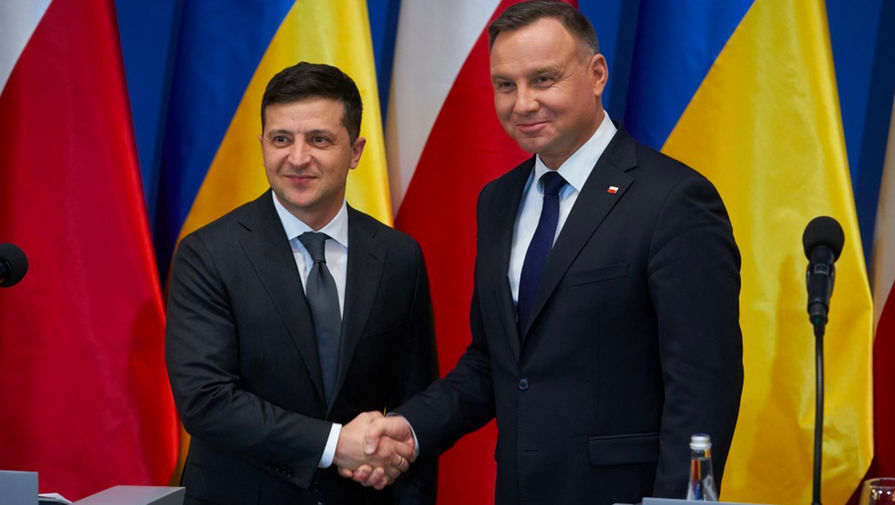 Зеленский и Дуда договорились о борьбе с Северным потоком  2