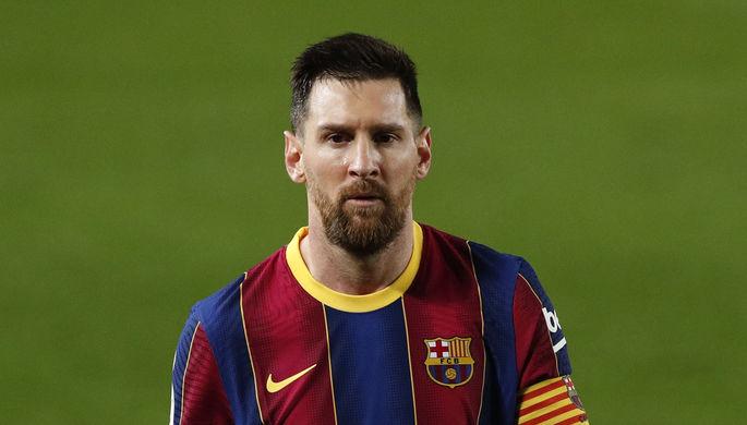 Лионель Месси в матче «Барселона» — «Вальядолид»