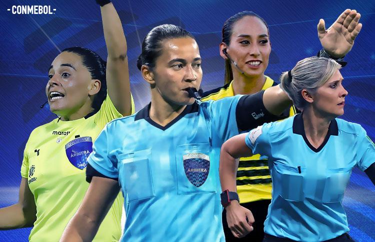 Впервые в истории Кубка Либертадорес матч турнира обслужит женская бригада арбитров