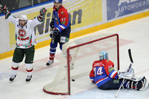 Майкл Гарнетт уверен, что ХК МВД заслужил финал Кубка Гагарина
