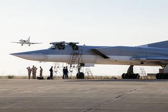 Ту-22М3 на иранской базе Хамедан