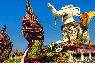 Фестиваль в Чиангмае, Таиланд
