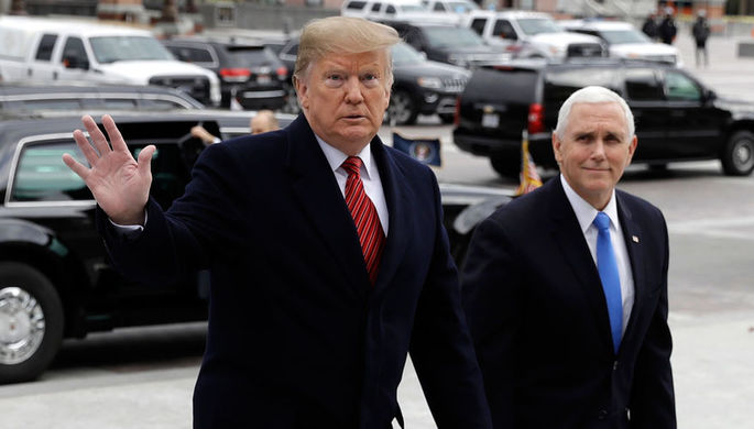 Трампу вынесли «Предупреждение»: займет ли Пенс кресло президента США