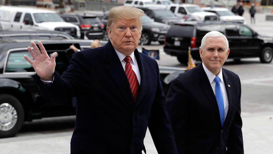 Трамп пообещал пойти на выборы в 2020 году в тандеме с Пенсом