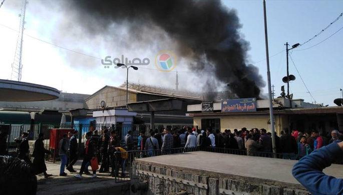 Ссора стала причиной пожара с десятками жертв в каирском поезде