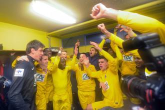 Футболисты «Эпиналя» радовались, будто выиграли финал