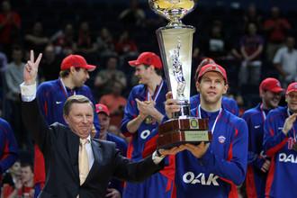 Встреча в Кремле решила судьбу чемпионата России по баскетболу