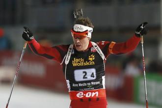 Эмиль Хегле Свендсен после финиша