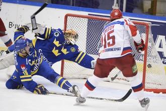 Сборная России не выполнила установку на матч со шведами