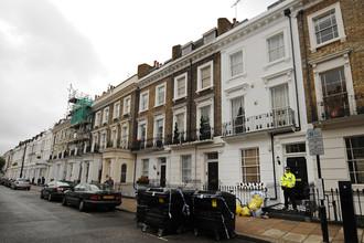 Дом в Лондоне, где было найдено тело сотрудника МI6 Гарета Уильямса