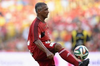 Великий бразильский футболист Ромарио