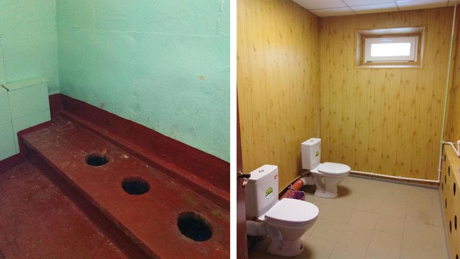 """""""Дайте медаль"""": мэр Миасса похвастался туалетами без кабинок в школе"""
