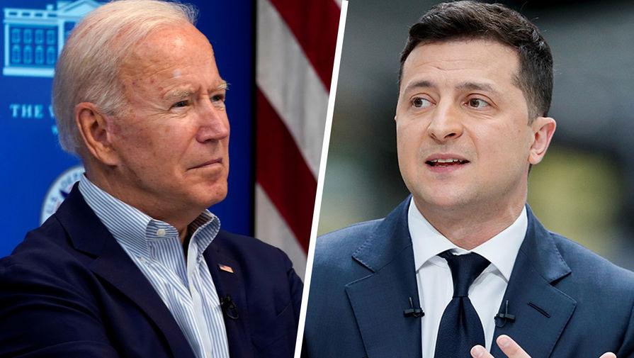 В администрации США рассказали о деталях переговоров Байдена и Зеленского