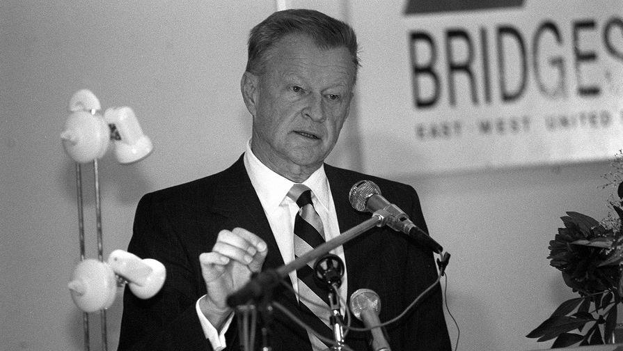 Известный американский советолог Збигнев Бжезинский на встрече с представителями политических партий Эстонии, 1991 год