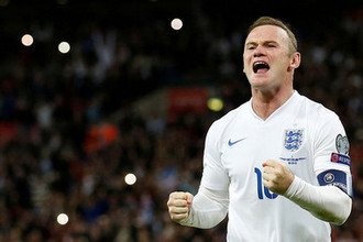 Уэйн Руни проводит прощальный матч за сборную Англии