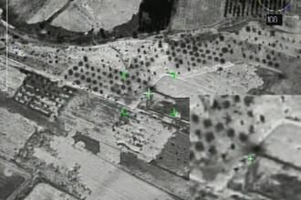 Нанесение ударов по скоплениям боевиков в провинции Идлиб в Сирии