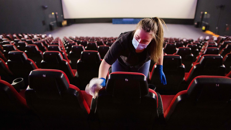 Кинотеатр в городе заработает без ограничений