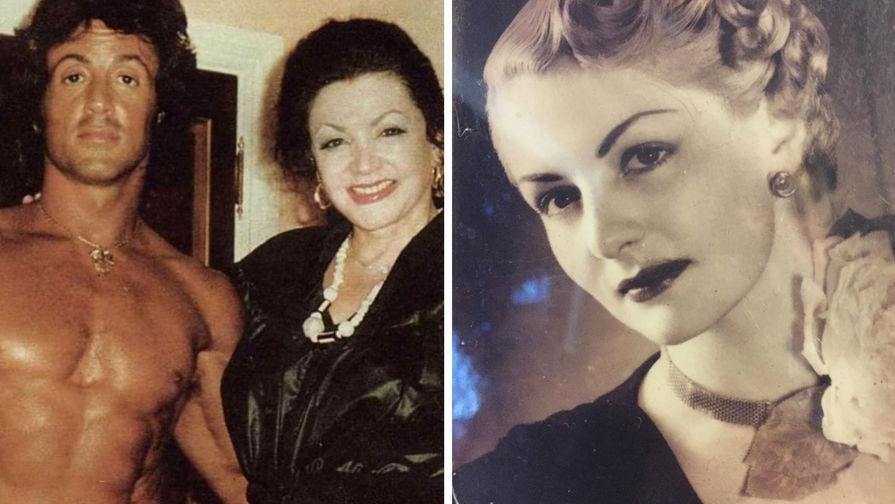 Умерла мать Сильвестра Сталлоне, узнававшая будущее от собак