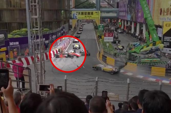 Гонщица «Формулы-3» София Флёрш разбилась во время Гран-при в Макао, 18 ноября 2018 года
