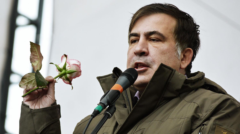 Саакашвили призвал своих сторонников «атаковать» власти Грузии