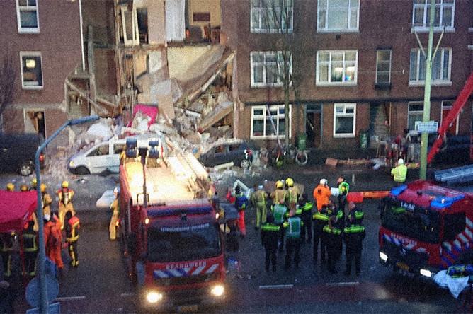 Последствия взрыва в Гааге, 27 января 2019 года
