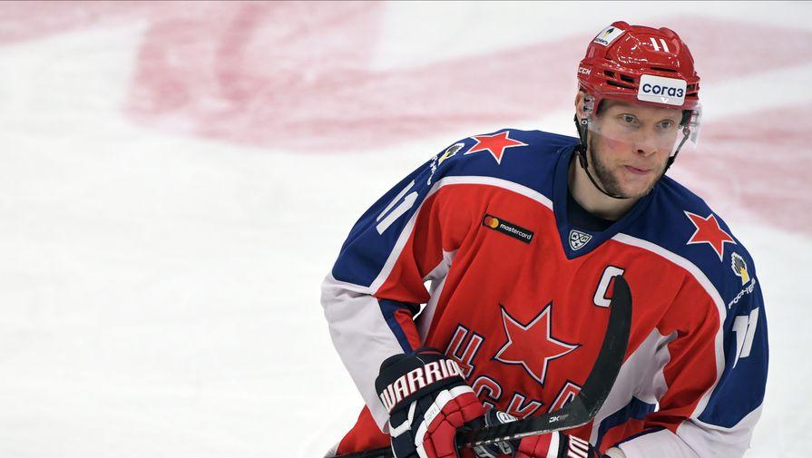 Хоккеист ЦСКА Сергей Андронов