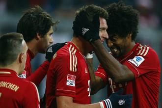 «Бавария» уверенно переиграла «Гройтер Фюрт»
